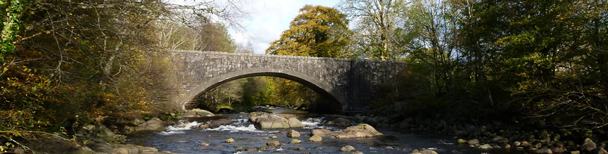 Strontian Bridge Ardnamurchan Scotland