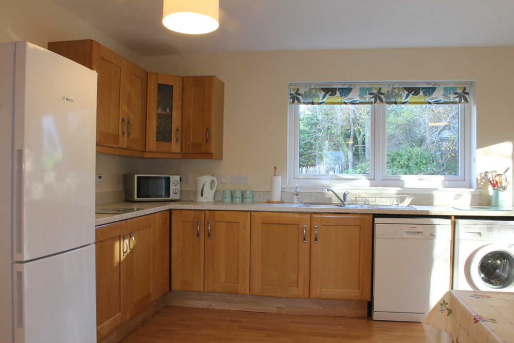 Kitchen at Bramble Cottage Self catering Strontian Ardnamurchan Scotland